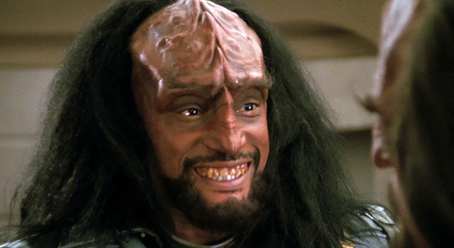 Well, this isn't me. This is a Klingon. Image Credit